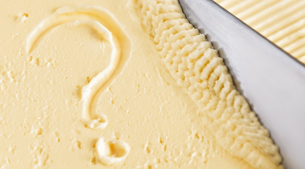 what is margarine made of