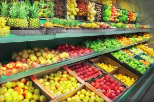 too much fruit in the supermarket