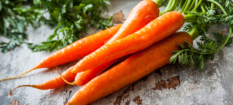 carrots are one of the healthiest vegetables