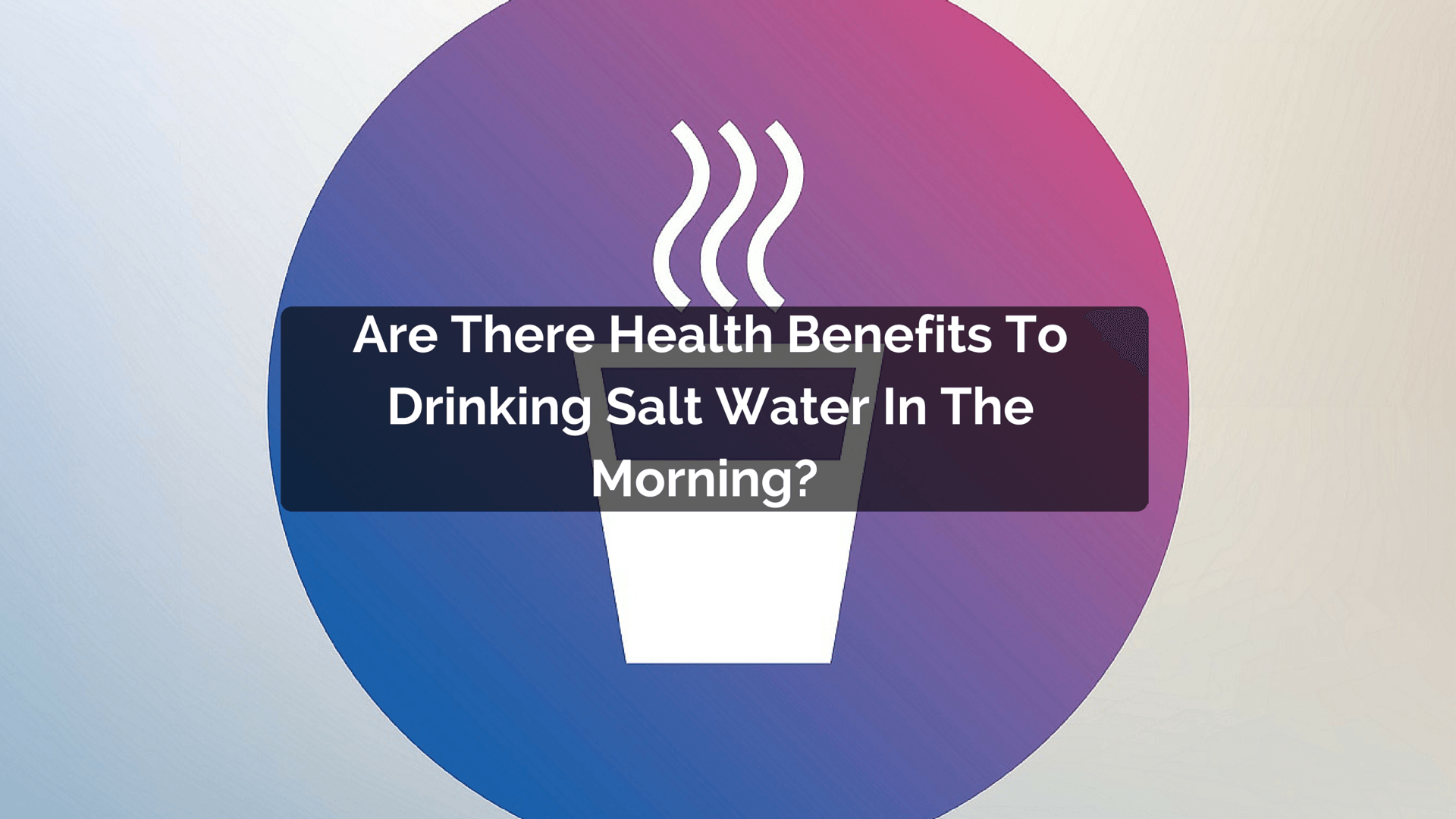 how to make salt water drinking water
