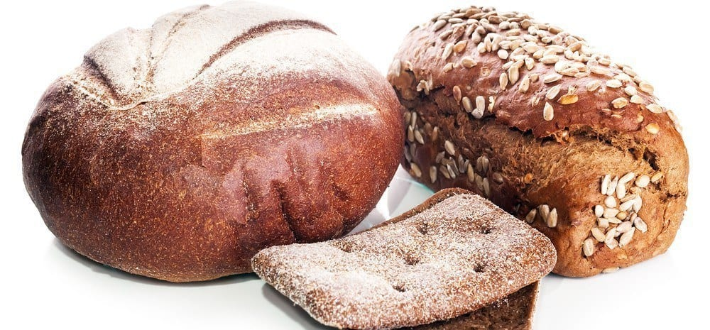 Various types of breads.