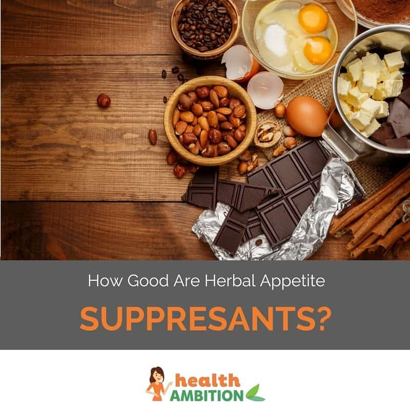 "Chocolate, nuts, and other ingredients and foods with the title ""How good are herbal appetite suppressants?"""