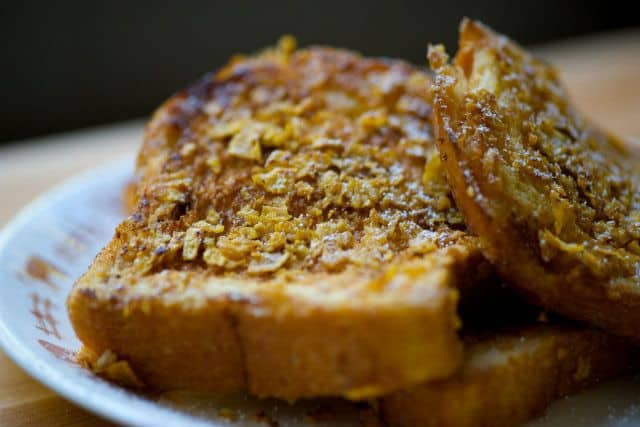 Cornflake Crunch French Toast.