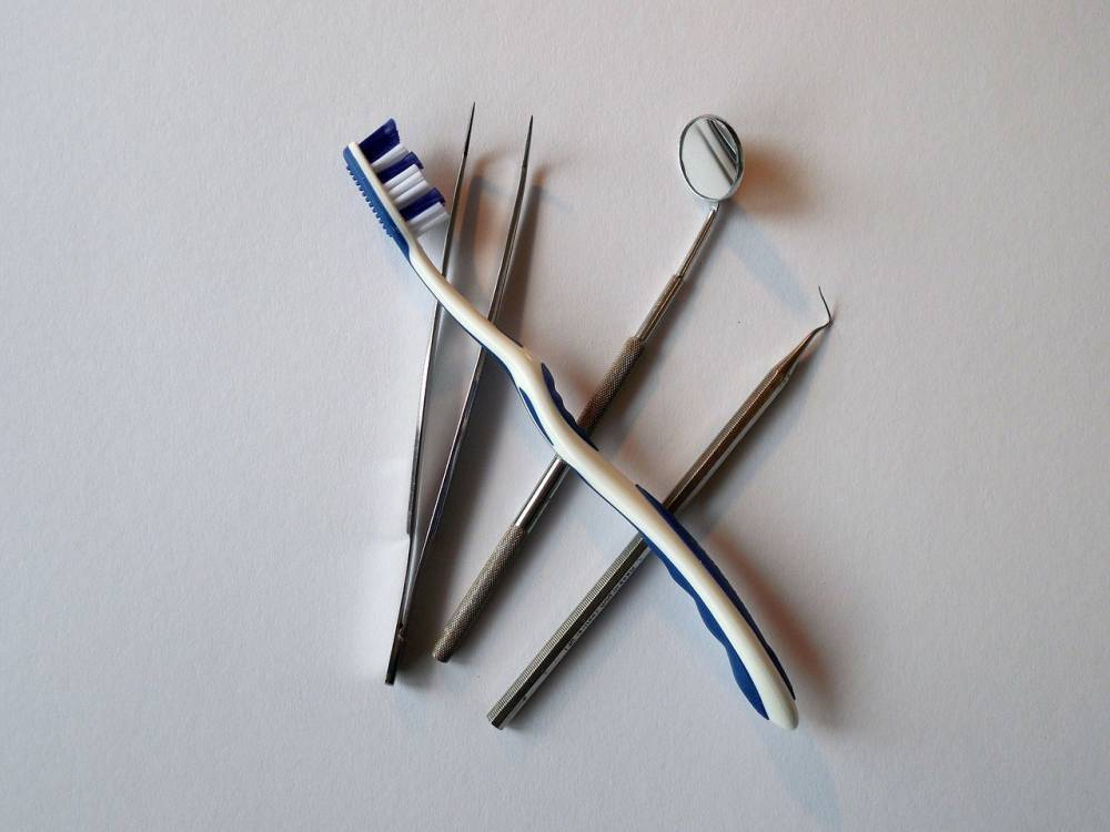 Dentist tools.
