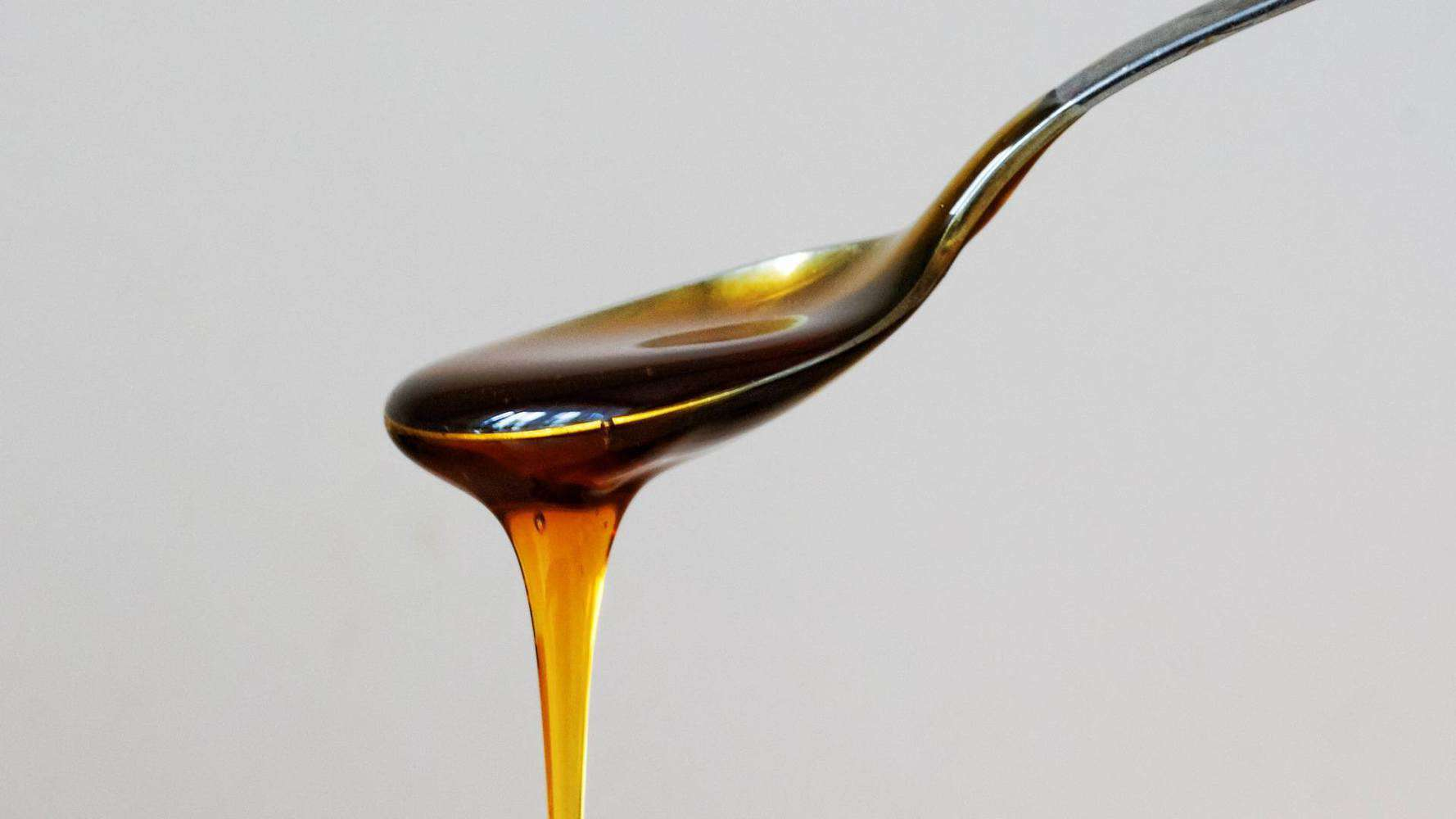 A spoonful of honey.