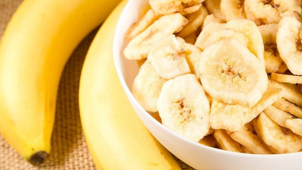 Banana slices in a bowl.