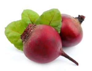 A pair of beets.
