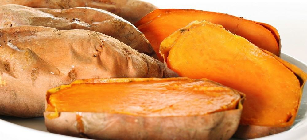 Sweet potatoes.