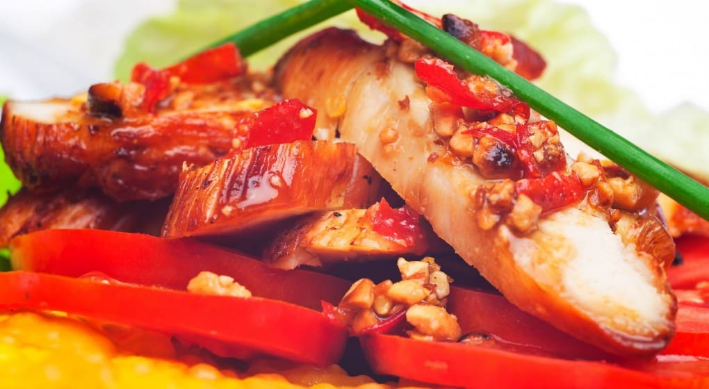A Marinated Garlic, Ginger And Chili Chicken Recipe - Health Ambition