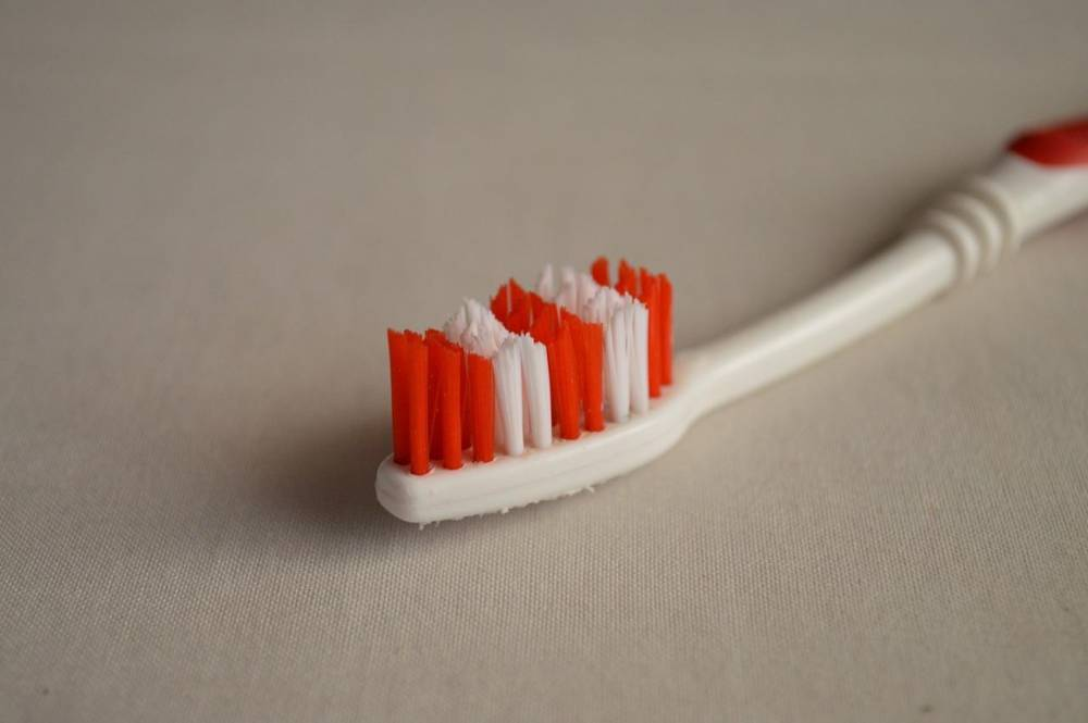 A toothbrush.
