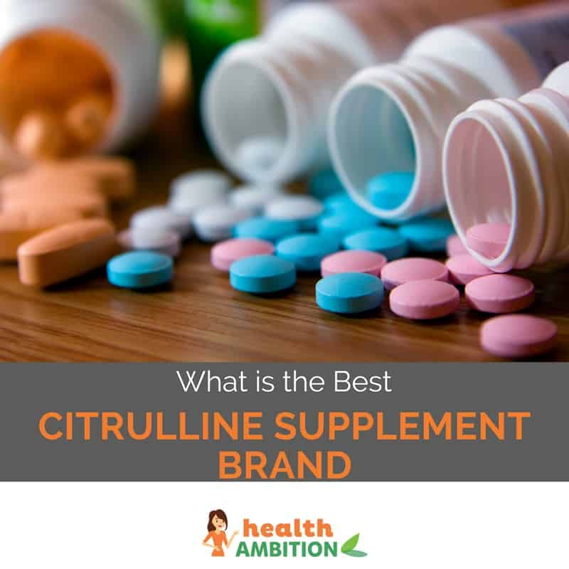 "Tablets with the title ""What is the Best Citrulline Supplement Brand"""