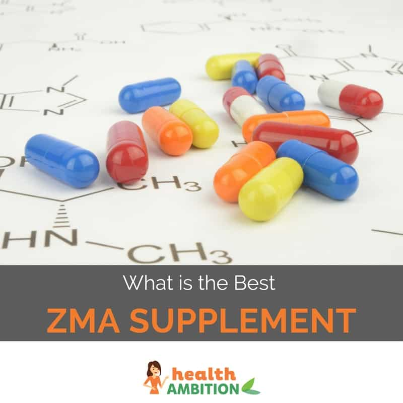"ZMA capsules with the title ""What is the Best ZMA Supplement"""