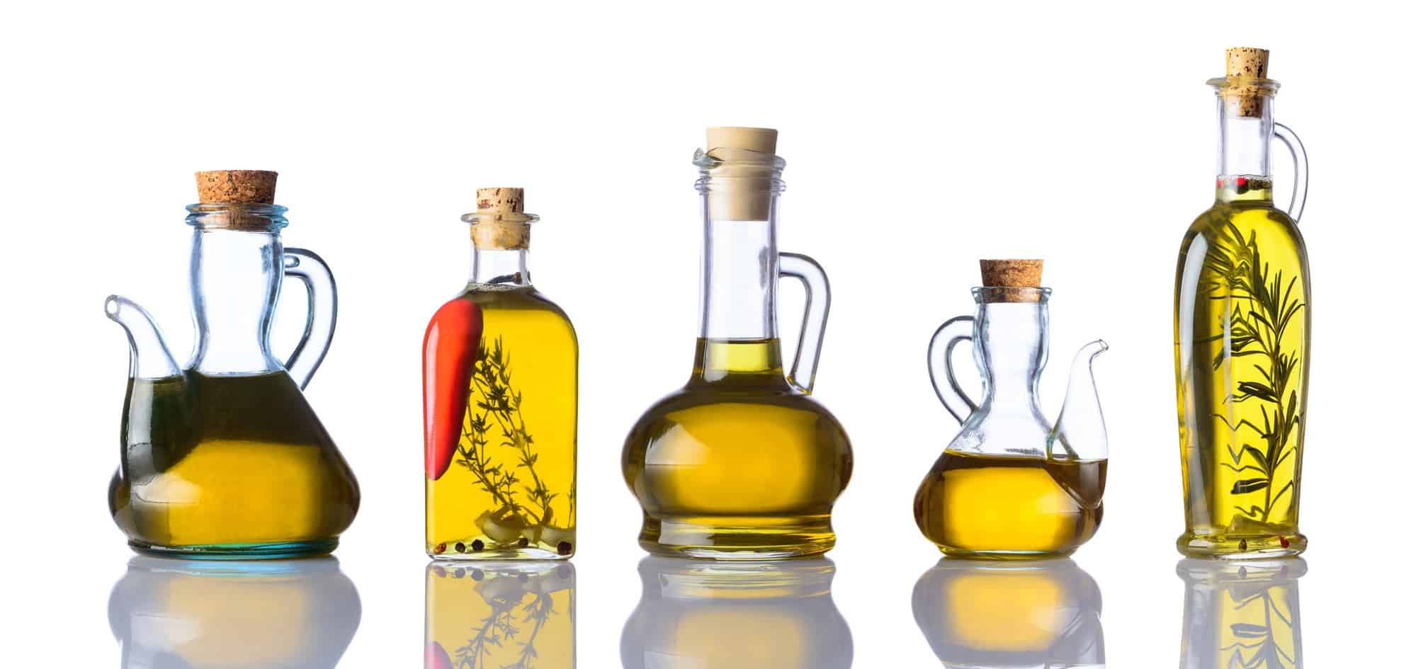 Various types of oils.