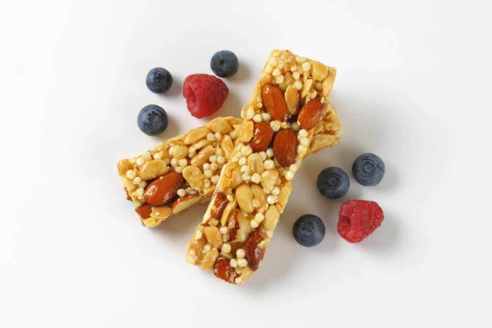 Protein fruit bars.