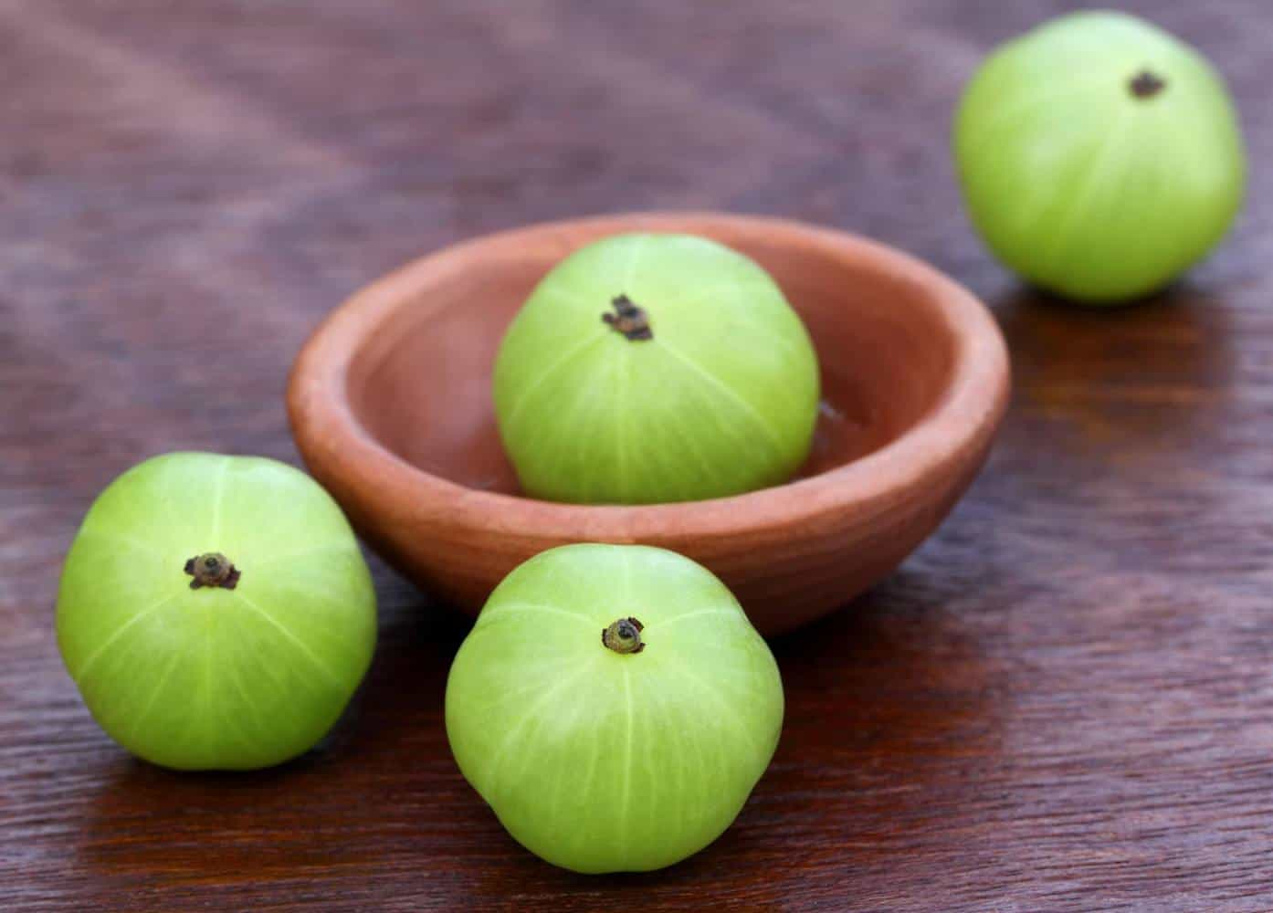 Amla fruit.