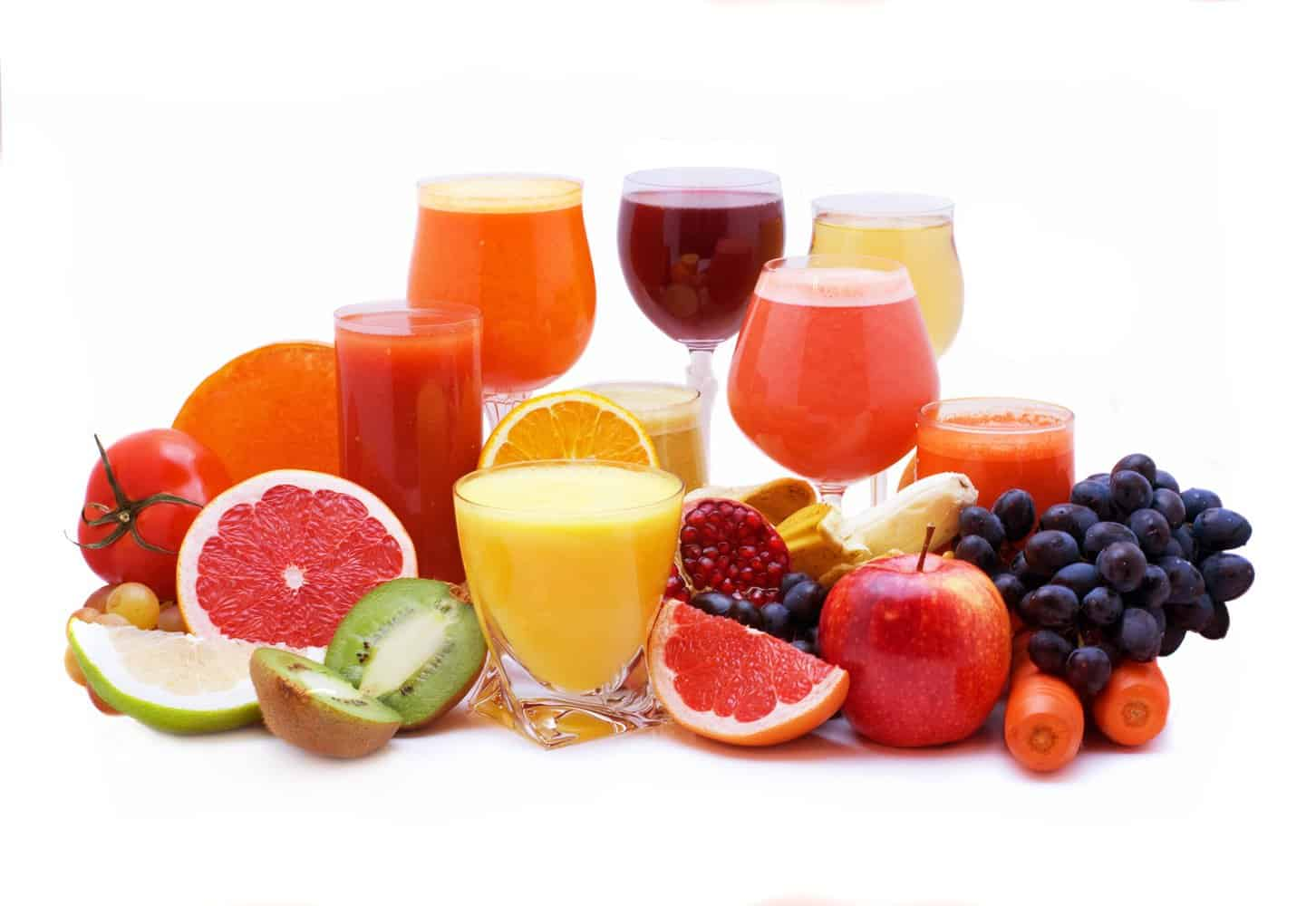 The 3 best juicing recipes for constipation health ambition glasses of citrus fruit juice malvernweather Gallery