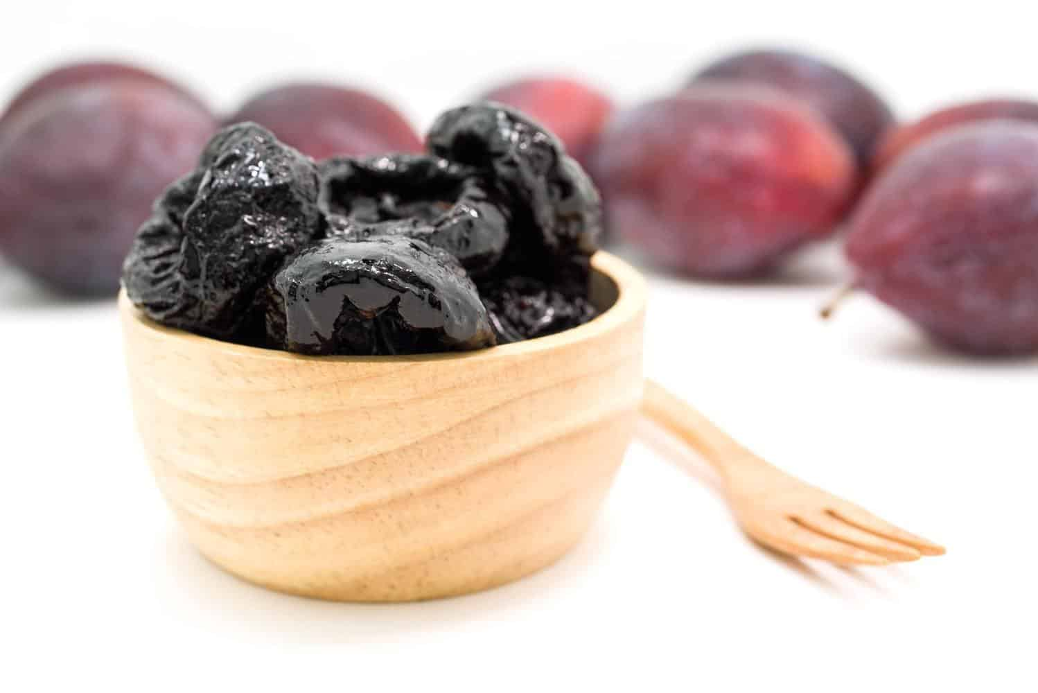 A cup of prunes.