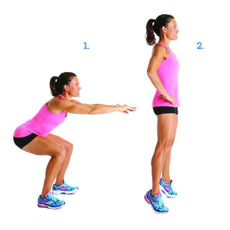 Squat Calf Raise