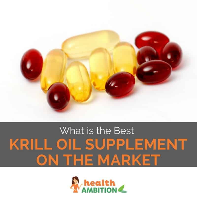 "Fish oil and krill oil capsules with the title ""What is the Best Krill Oil Supplement Brand on the Market """