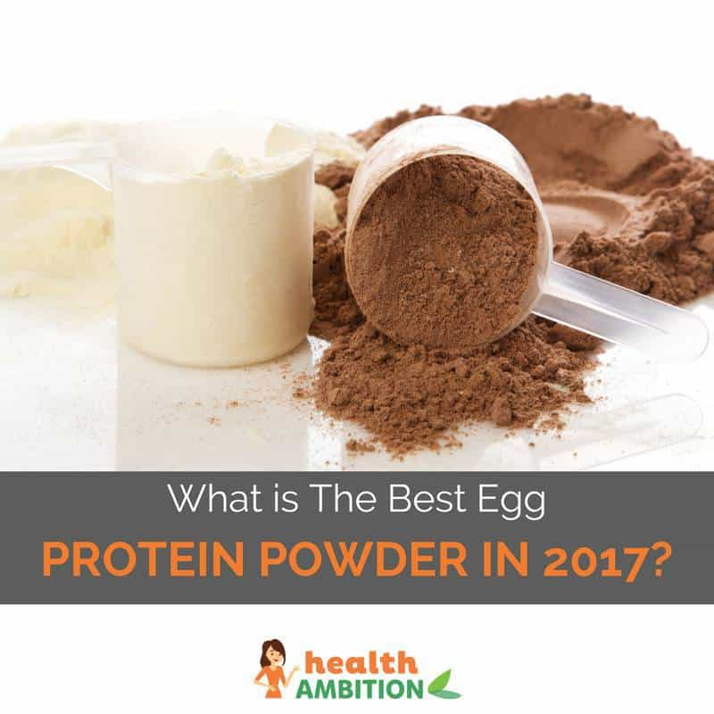 "Protein powder with the title ""What is The Best Egg Protein Powder in 2017?"""