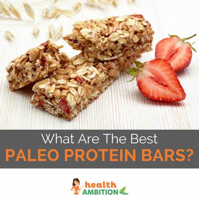 "Protein bars with the title ""What Are The Best Paleo Protein Bars?"""