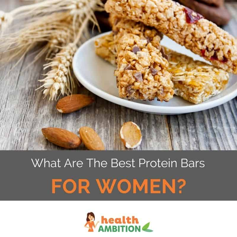 "Protein bars with the title ""What Are The Best Protein Bars For Women?"""