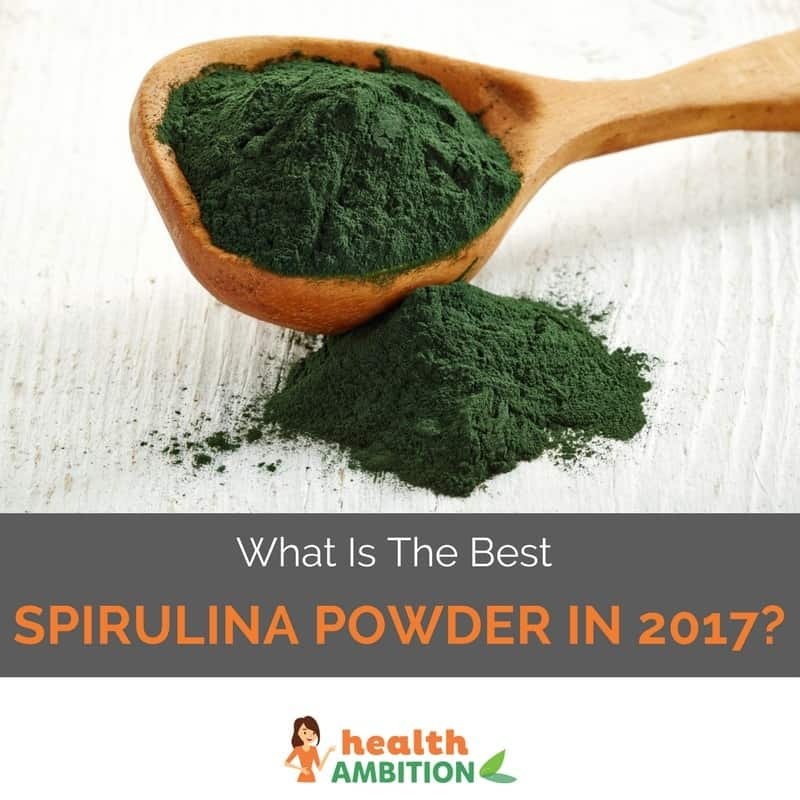 "Spirulina powder with the title ""What is The Best Spirulina Powder in 2017?"""