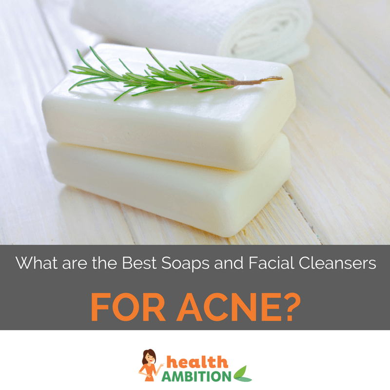 """Soap with the title """"What are the Best Soaps and Facial Cleaners for Acne?"""""""