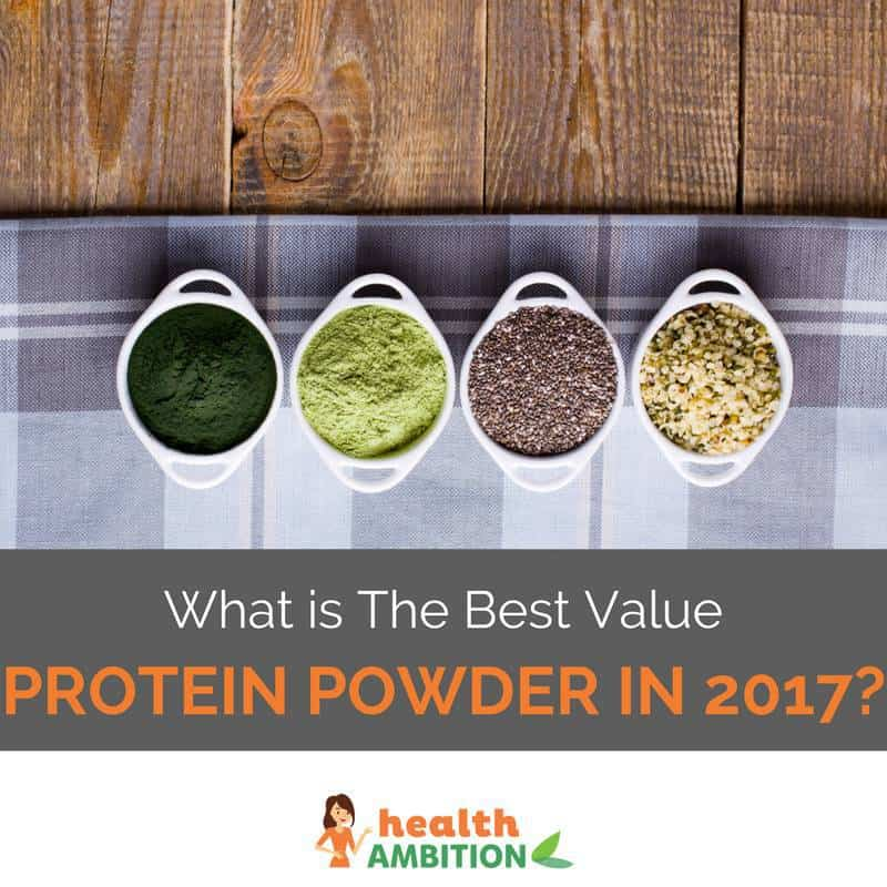 """Protein-rich seeds and foods with the title """"What is The Best Value Protein Powder in 2017?"""""""