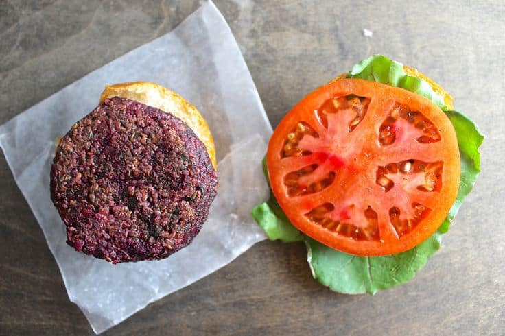 The World's Juiciest Veggie Burger