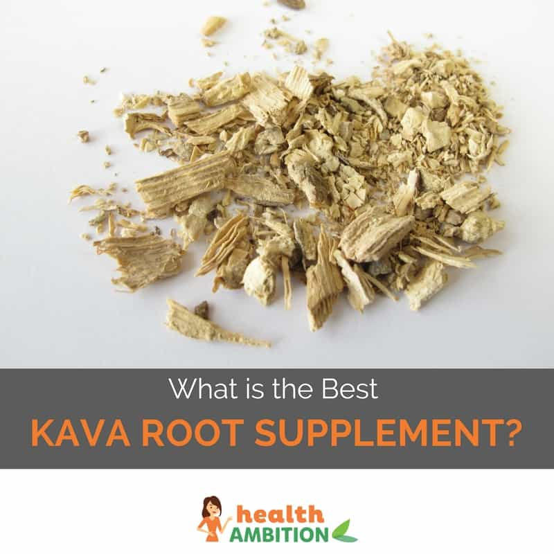 "Kava root with the title ""What is the Best Kava Root Supplement"""
