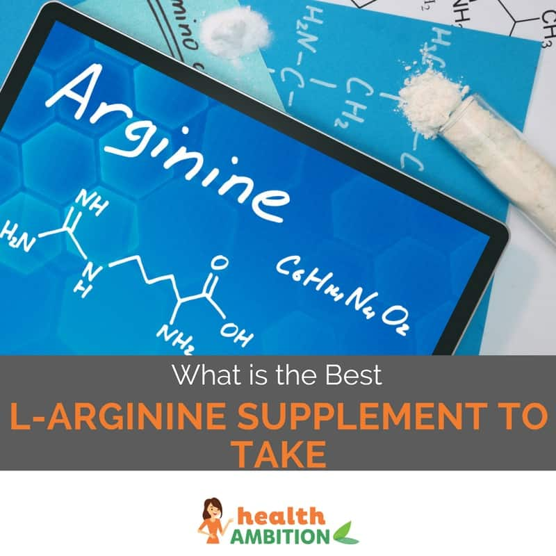 "Arginine chemical symbol with the title ""What is the Best L-Arginine Supplement to Take"""