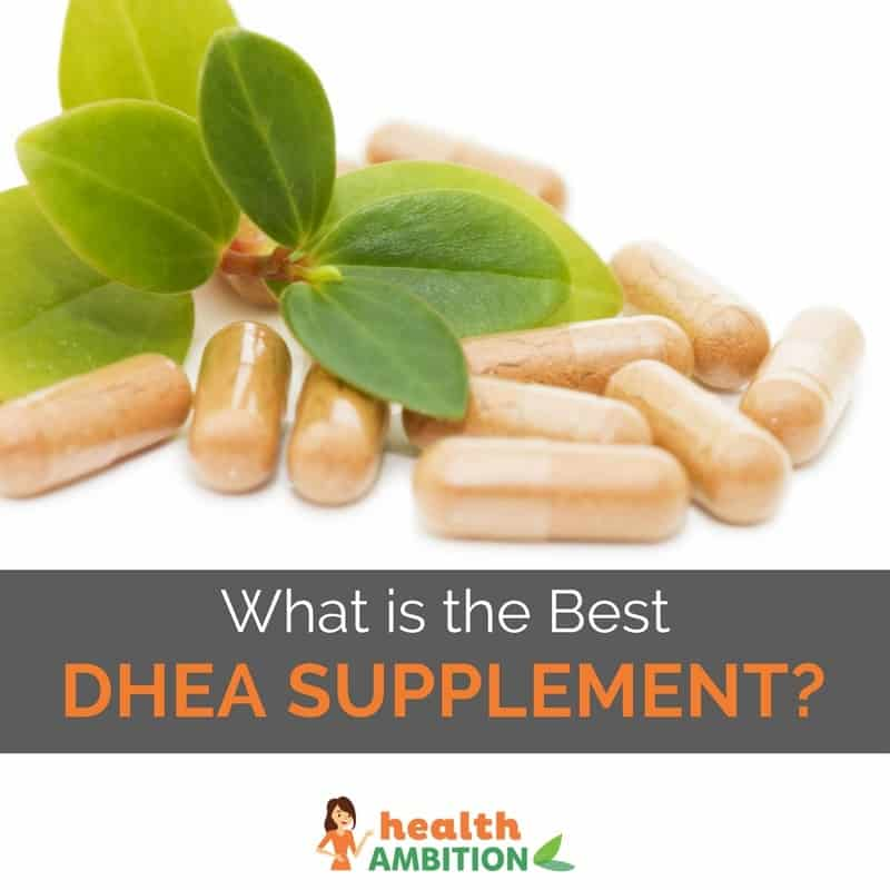 "Capsules with the title ""What is the Best DHEA Supplement?"""